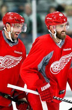 Pavel Datsyuk & Henrik Zetterberg • Detroit Red Wings