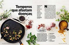 Editorial Design Inspiration: Saude Magazine | Abduzeedo Design Inspiration