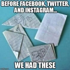 Those were the days!