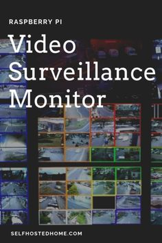 Have video cameras around your home and property for home defense? Have an easy way to display them? In today's article, I'm going to walk through turning a R Security Surveillance, Security Alarm, Surveillance System, Security Camera, Home Security Tips, Home Security Systems, Meant To Be Yours, Home Defense, Open Window
