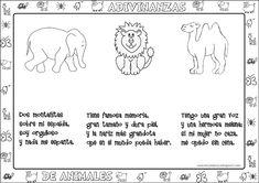 Aula virtual de audición y lenguaje: Adivinanzas de animales