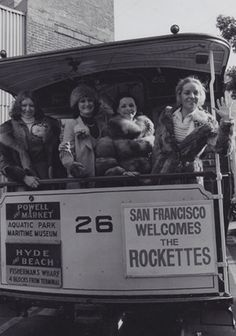 Rockettes in San Francisco in 1979!