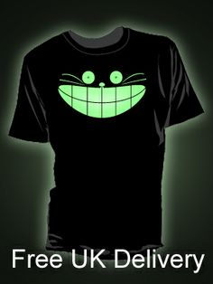 Glow in the dark t-shirts unique designs from Block t-shirts. Quick charging glow printed onto high quality ethical t-shirts News Design, The Darkest, Shirt Designs, Glow, Prints, Mens Tops, T Shirt, Supreme T Shirt, Tee