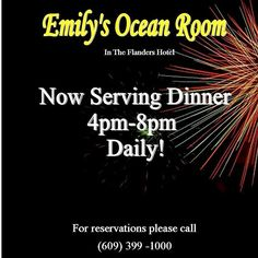 Emilys is now open daily from 8am-8pm