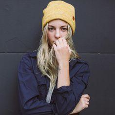 Mystery Beanie - Yellow