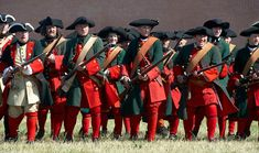 Russians from the army of Peter the Great and the Great Northern War (around 1700-1709)