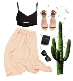 """""""desert"""" by ffeathered ❤ liked on Polyvore featuring Area Di Barbara Bologna…"""