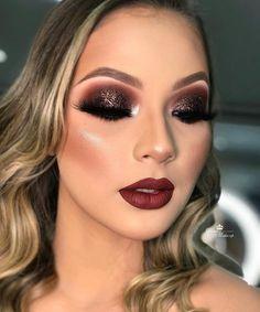 Eye Makeup Tips – How To Apply Eyeliner – Makeup Design Ideas Glam Makeup Look, Blush Makeup, Prom Makeup, Gorgeous Makeup, Teen Makeup, Smokey Eye Makeup, Eyeshadow Makeup, Lip Makeup, Makeup Brushes