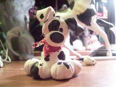 Fimo Dalmation pup