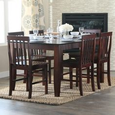 Abigail 7 piece Dining set - Art Van Furniture