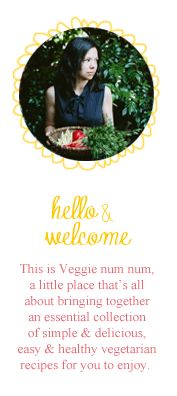 veggie.num.num — delicious vegetarian recipes