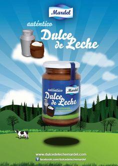 Dulce de leche Mardel - Milk Caramel Mardel - Confiture de lait Mardel