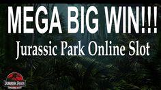 Jurassic Park Online Slot HUGE WIN! Mega big Win!