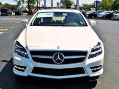 Beautiful Diamond White 2014 Mercedes-Benz CLS-Class CLS550.