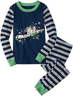Disney/Pixar® Buzz Lightyear Long John Pajamas from Hanna Andersson.  I didn't know Hanna Andersson had a Disney line.