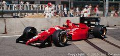 1988 GP USA (Detroit) Dallara F188 - Ford (Alex Caffi)