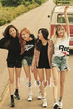 BLACKPINK - 1st LOOK x Reebok Classic ~~ for + visit my profile ~~ Thanks! @inha1994