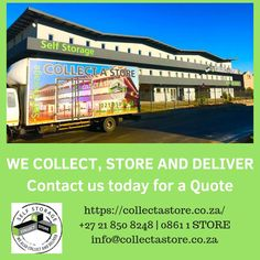 We are easily located to provide self storage facilities for anyone in the Western Cape regions of Cape Town, Somerset West, Strand, Gordon's Bay and Stellenbosch. Storage Facilities, Somerset West, Self Storage, Cape Town, Collection