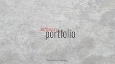 Graduate Application Portfolio on Behance