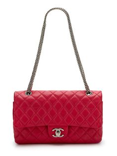 Fuchsia Quilted Classic 2.55 Double Flap Bag by Chanel on Gilt.com  omg omg omg NEED <3