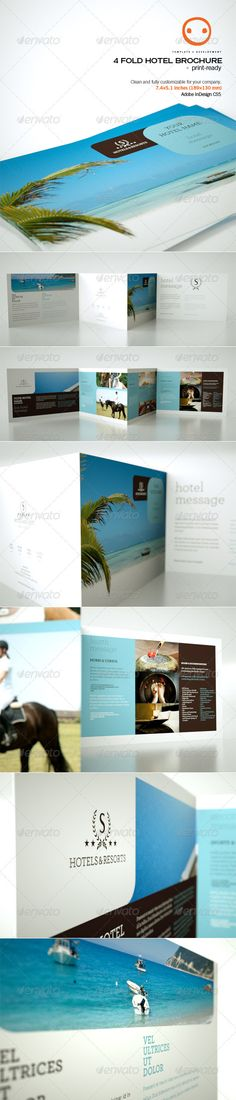 21 Best Hotel Brochure Images On Pinterest Hotel Brochure Flyer