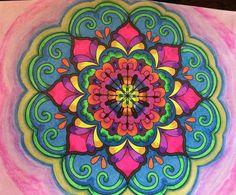ColorIt Mandalas to Color Volume 1 Colorist: Dawn Giannone #adultcoloring #coloringforadults #mandalas #mandalastocolor