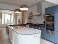 Awesome Traditional Kitchen Opens Up and Lightens Up