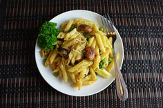 Penne with Creamy Sauce