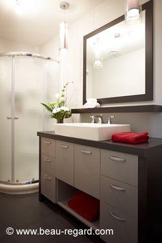 Plus de 1000 id es propos de salle bain sur pinterest - Armoire salle de bain fly ...