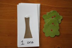 Playing House: Counting Apples Activity