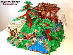 Lego Japanese Garden