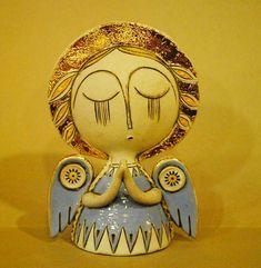 adelaparvu.com despre obiecte de arta din ceramica, ceramica pictata, ingeri din ceramica, artist Aram Hunanyan (7)