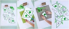 The TomKat Studio: {Photo Styling & Ideas for HGTV} St. Patrick's Day Decorating & Craft Ideas!