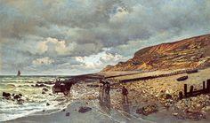 LaPointede laHevecon la bassa marea(1865)  - Monet Claude (1840-1926) - STAMPA SU TELA  € 20,82