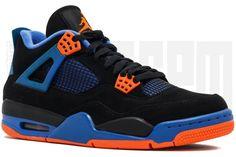 c5cfcd9f4e3070 eBay  Sponsored 2012 Nike AIR JORDAN 4 RETRO CAVS 13 14 BLACK ORANGE ROYAL  BLUE aj4 playoff