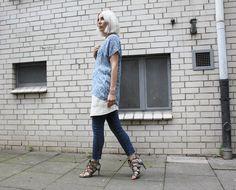 Blue, Layering, Ganni, Wickelrock, Isabel Marant, Zara, Denim, Jeans, Snake, Look. lotd, ootd, Outfit, Style, Summer, Fashion, Inspiration, Blog, stryleTZ