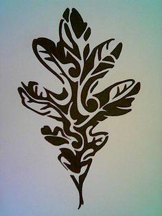 oak leaf and acorn tattoo designs - Google Search