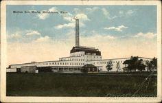 Morton Salt Works Hutchinson KS Dated 1921