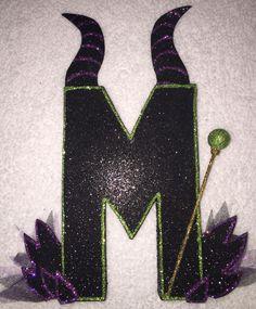 Disney Descendants Villains Letter Party Decoration Maleficent #Disney