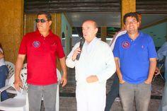 Reunião com Kaique e Senador Dornelles em AnchietaReunião com Kaique e Senador Dornelles em Anchieta
