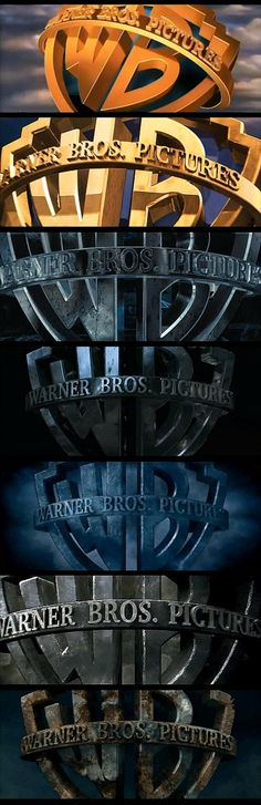 Harry Potter: progression of the Warner Logo through all the films