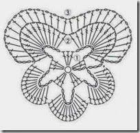 how to crochet a pansy, written pattern crochet-pansy-pattern-diagram