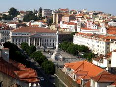 Praça do Rossio, Lisboa, Portugal