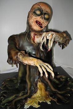 Zombie cake