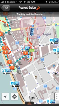 Our favourite walking tour app for Budapest, Hungary