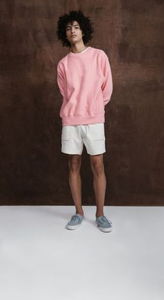 S/S street style pink fashion, fashion moda, boy fashion, urban fashion, st 90s Fashion Grunge, Pink Fashion, Urban Fashion, Boy Fashion, Fashion Outfits, American Apparel, New Man Clothing, Moda Blog, Gwen Stefani
