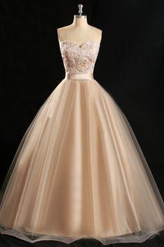 Evening Dress,Long Evening Dresses,A Line Evening Prom Dress,Tulle