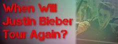 Have you been wondering when #JustinBieber will be going back on tour or releasing a new album? So have we!! #Beliebers