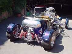 English built V12 Jaguar T Bucket (3) by Austin7nut, via Flickr
