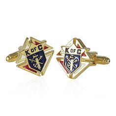 Knights of Columbus Goldtone Cufflinks Cuff-Daddy http://www.amazon.com/dp/B00B46YFBE/ref=cm_sw_r_pi_dp_Clgsub03W5T39